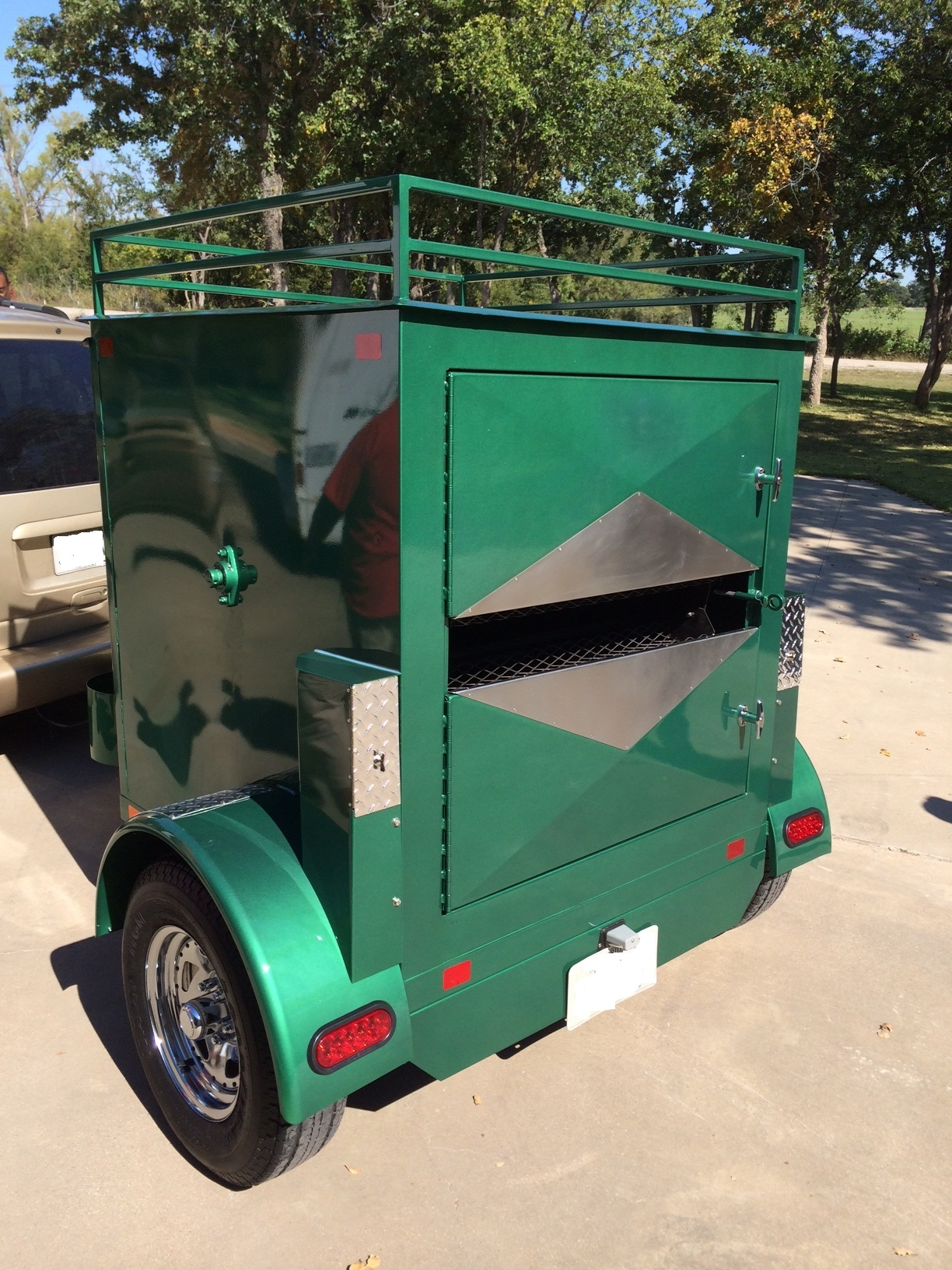Texas Corn Roasters Offers Large and Small Roasters